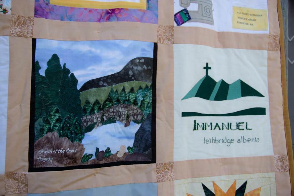 70th anniversary quilt