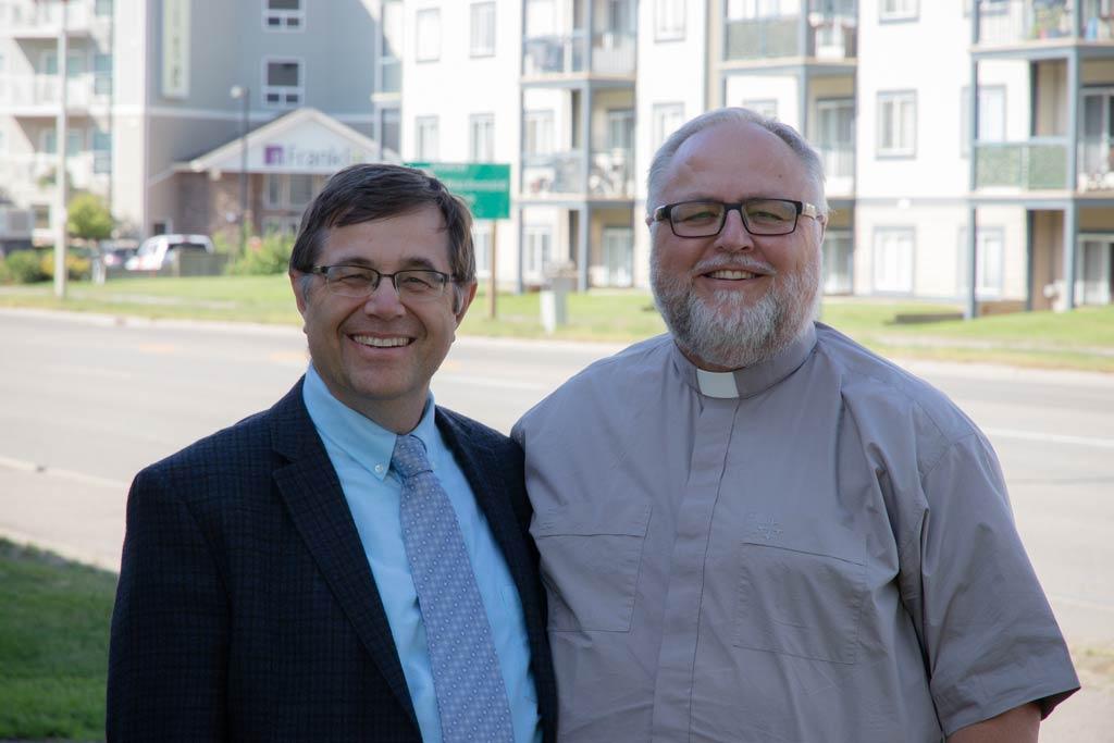 Rev. Dr. Schaeffer and Rev. Dr. Kochendorfer