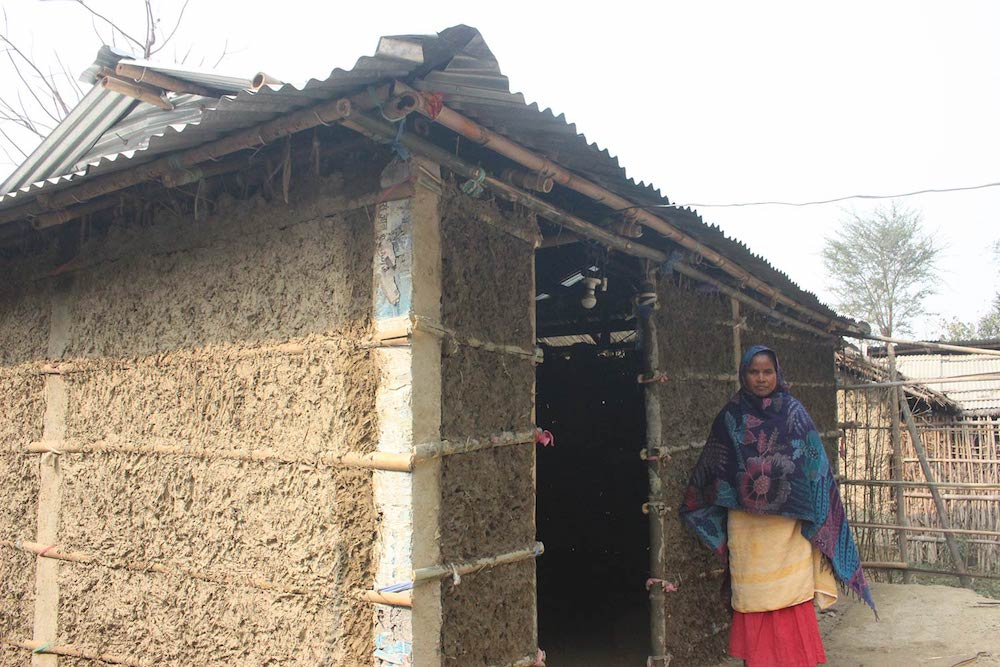 Shelter reconstruction in Nepal