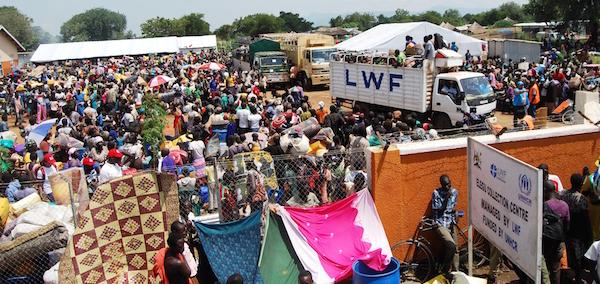 South Sudanese refugees