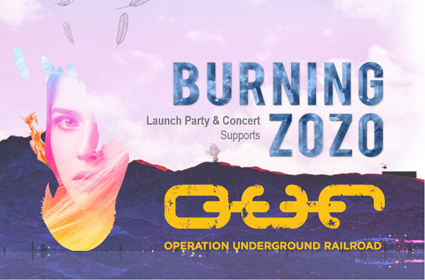 BURNING ZOZO Book & Podcast Fundraiser