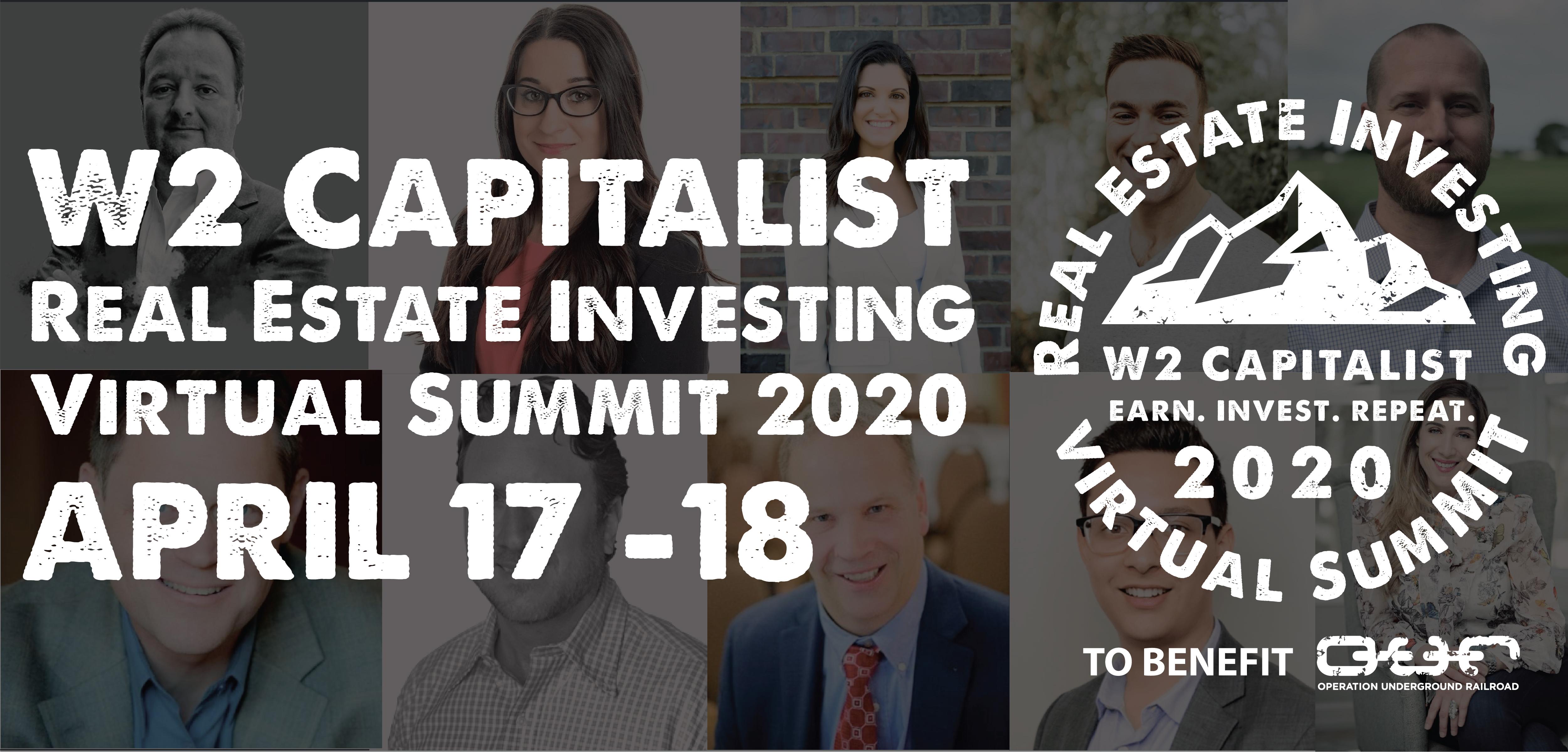 W2 Capitalist REI Virtual Summit