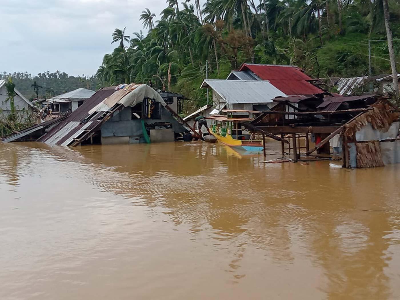 Flooding in Eastern Samar