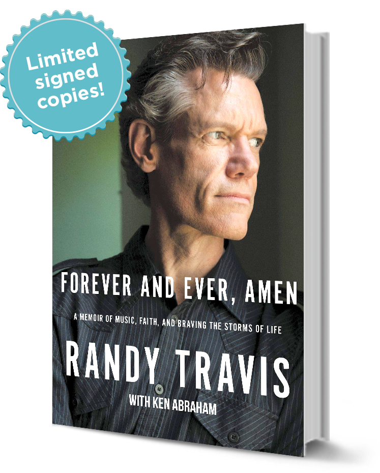 Randy Travis Book - Forever and ever, amen