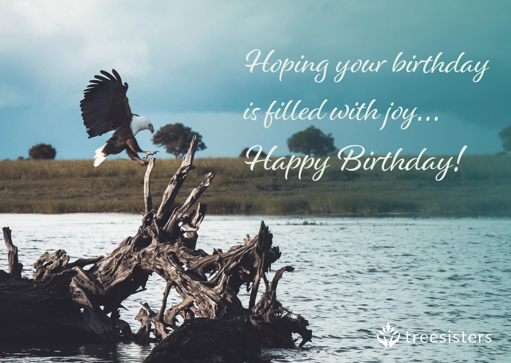 Birthday Wishes - Eagle — TreeSisters