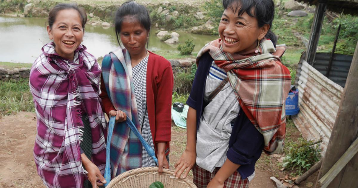 Khasi Hill Women Tree Planters 1