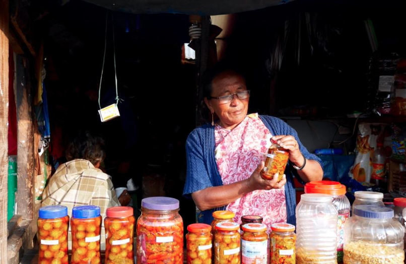 Khasi Hills Woman with Business 1
