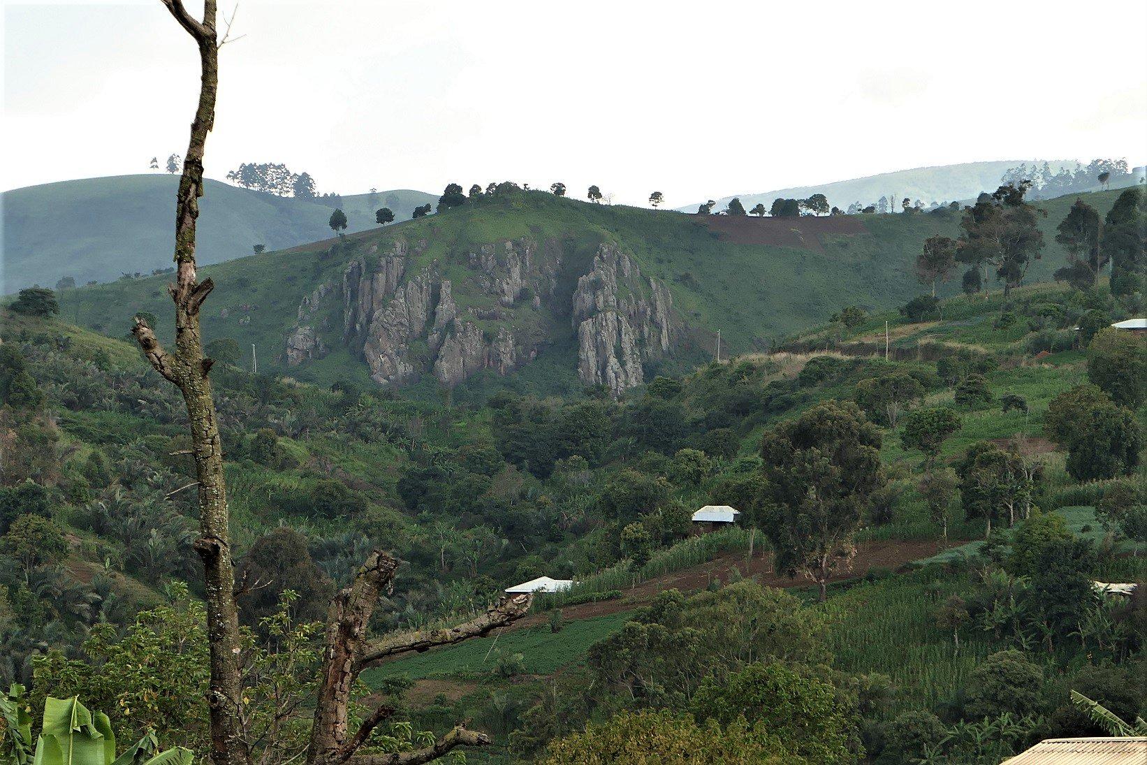 Mt Bamboutos Caldera