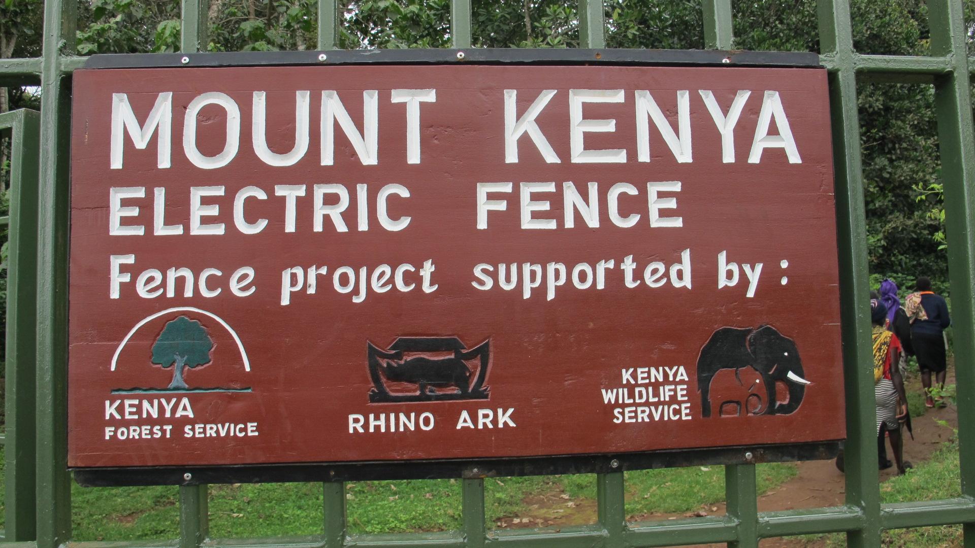 Mt. Kenya Fence