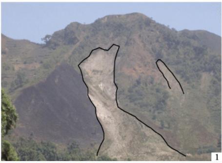 Rock Slide Scar Cameroon