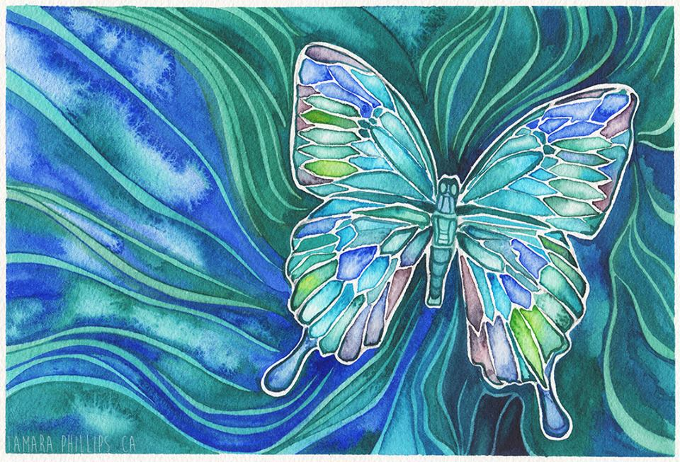 Tamara Phillips Butterfly