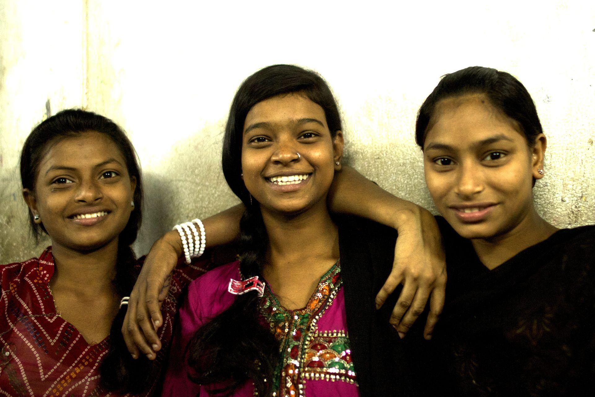 Three Indian Girls