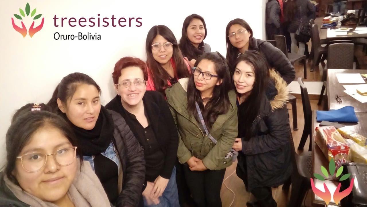 TreeSisters Oruro Grove, Bolivia