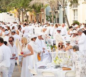 Sixth Annual Dreyfoos In White Event