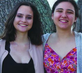 Marianna Kaimakliotis and Ruby Rosenthal