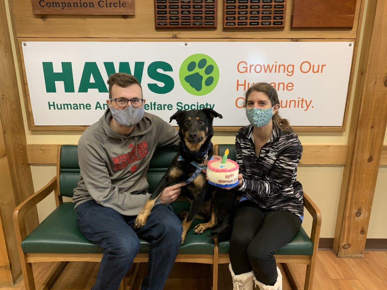 Alise's Adoption Day - provided by HAWS