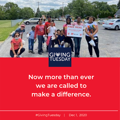 Giving Tuesday 2020, Called to Make a Difference