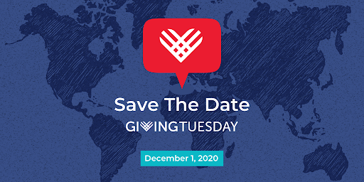 Giving Tuesday 2020, Save The Date