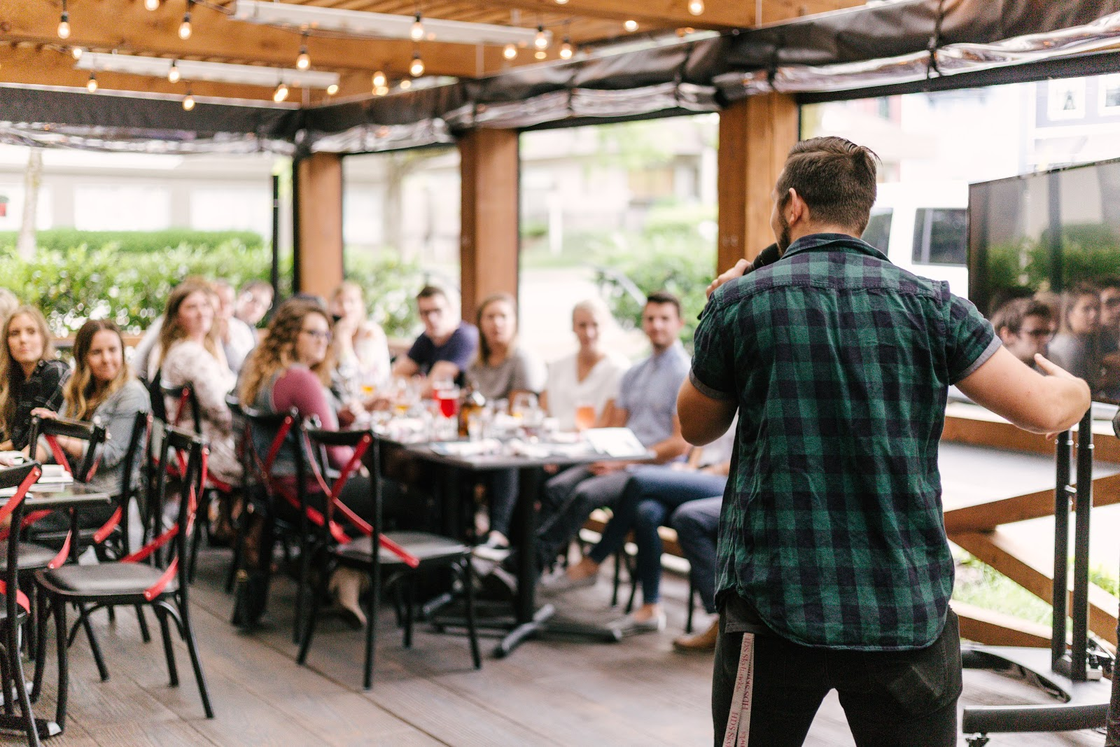 Get a keynote speaker to headline your event