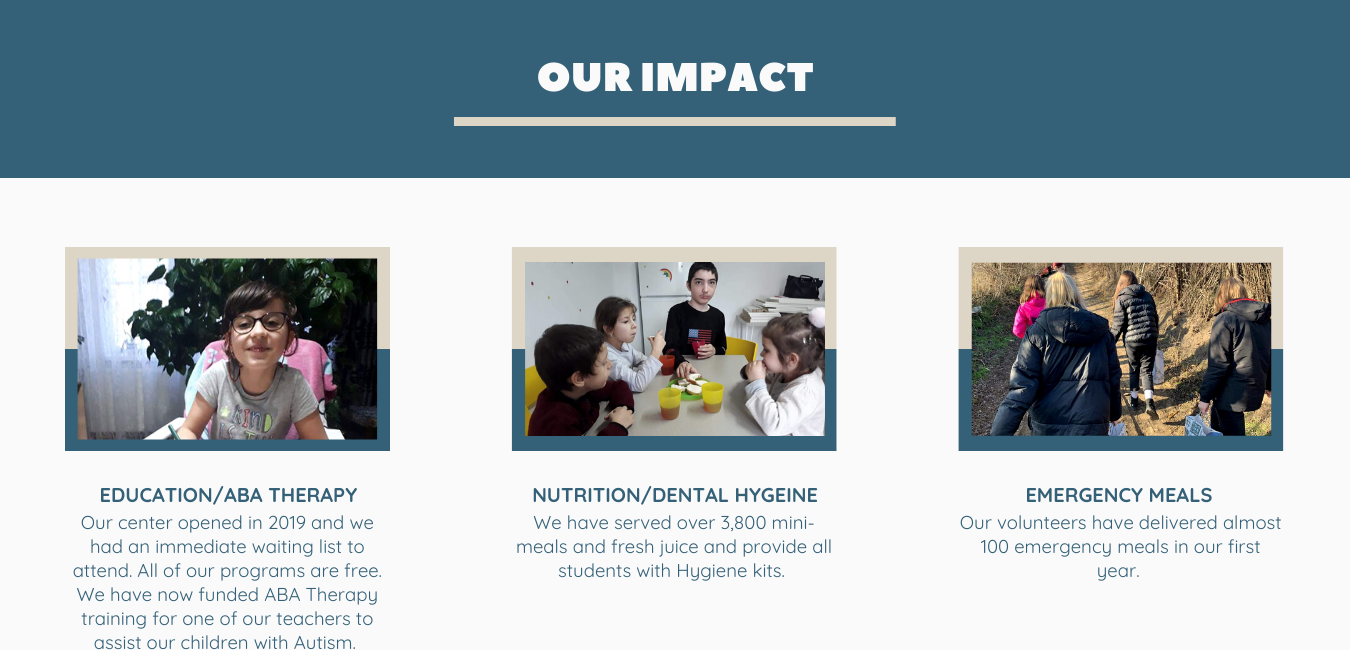 Delia Foundation impact