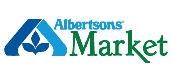 Albertson Market logo Doggie Dash & Dawdle 2020