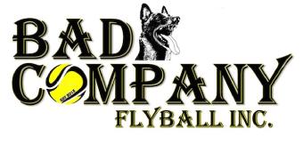 Bad Co Flyball Vendor Logo Doggie Dash & Dawdle 2020