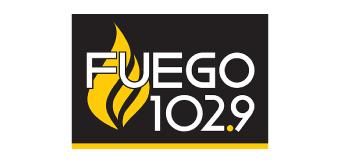 Fuego 102.9 Logo Doggie Dash & Dawdle 2020