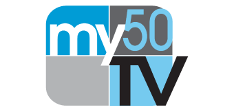 My50 TV Logo Doggie Dash & Dawdle 2020