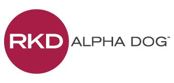 RKD Alpha Dog logo Doggie Dash & Dawdle 2020