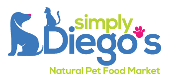 Simply Diego's Natural Pet Food Market logo Doggie Dash & Dawdle 2020