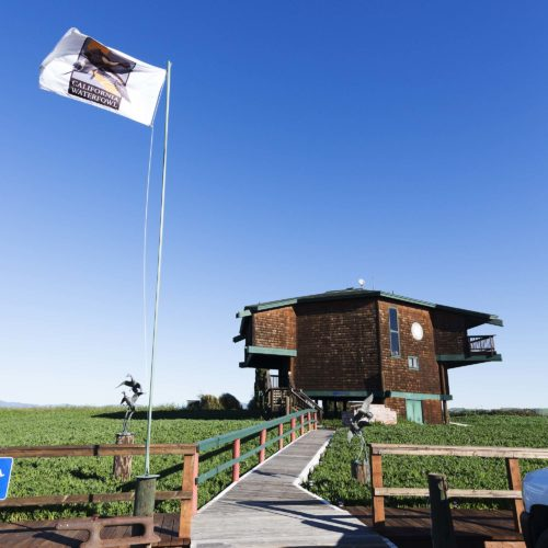 Grizzly Ranch clubhouse in the Suisun Marsh