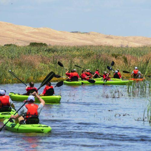 Kayaking at Hunter Conservation Camp