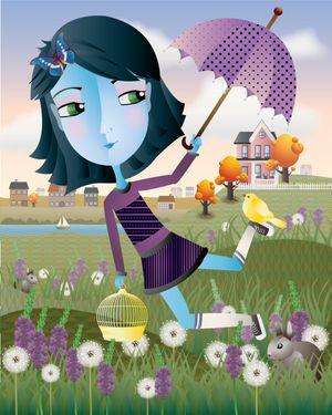 Sarah Price - The Magic Umbrella