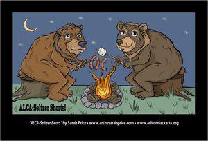 ALCA-Seltzer Bears postcard