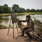Monet Acrylic Painting Class