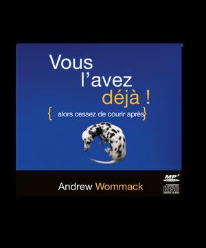 Vous l'avez déjà - Album CD   French: You've Already Got It!- CD Album