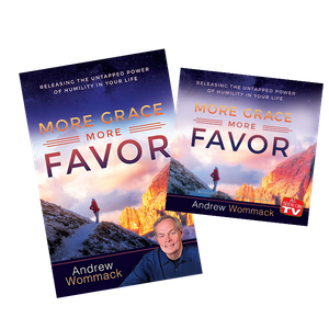 More Grace, More Favor DVD Package