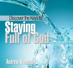 Discover the Keys to Staying Full of God CD Package