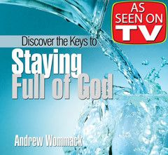 Discover the Keys to Staying Full of God  DVD Package