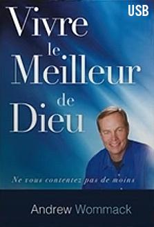 Vivre Le Meilleur De Dieu Album USB (Living in God's Best-French)
