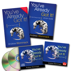 You've Already Got It - CD Album Package
