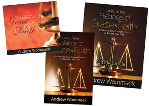 Living in the Balance of Grace and Faith- CD Package