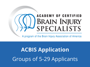 ACBIS Application (Groups of 5-29 Applicants)