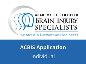 ACBIS Application (Individual)