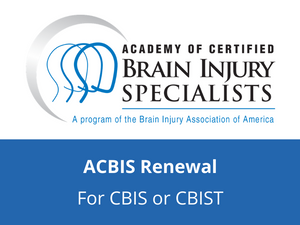 ACBIS Annual Renewal