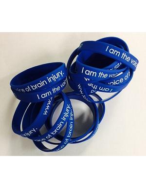 Blue Silicone Wristbands
