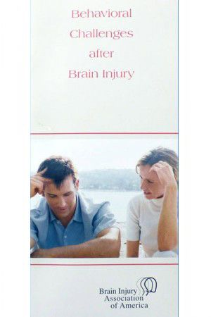 Behavioral Challenges after Brain Injury – Living with Brain Injury Brochure