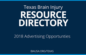 2018 Texas Brain Injury Resource Directory - Advertisements and Listings