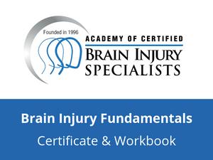 Brain Injury Fundamentals Certificate Fee