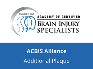 ACBIS Alliance Member - Additional Plaque